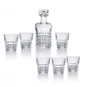 Louxor Bar Set - Decanter & 6 Tumblers, 10cm - Limited Edition of 2000