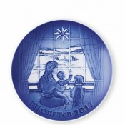 2017 Christmas Plate, 18cm - Waiting for Father