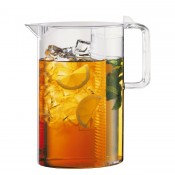 Ceylon - Ice Tea Jug with Filter, 28cm, 3L- Clear