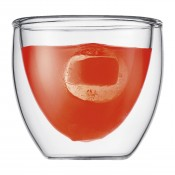 Pavina - Set/2 Extra Small Double Wall Glasses, 6.5cm, 80ml