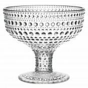 Glass Footed Bowl, 10cm, 350ml - Clear