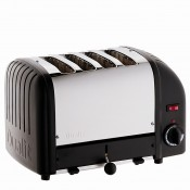 4 Slot NewGen Toaster - Black