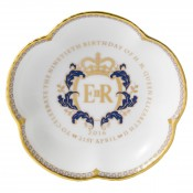 Queen Elizabeth II 90th Birthday Five Petal Tray, 11.5cm