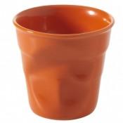 Clementine Crumpled Cuppuccino Cup, 8cm, 180ml