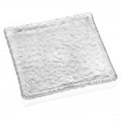 Clear Plate 20x20cm - Diamante