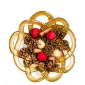 Large Decorative Bowl, 38cm - Gold