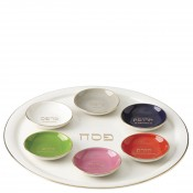 7-Piece Seder Plate & Bowl Set