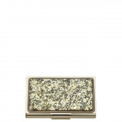 Glitter Business Card Holder, 9.5x5.5cm - Gold