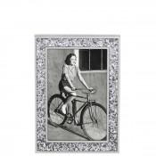 "Glitter Frame 10x15cm (4""x6"") - Silver"