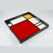 Large Square Serving Tray, 51x51cm