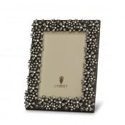 "Noir Platinum Plate Frame, 10x15cm (4""x6"")"