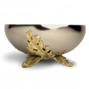 Gold Plate Large Bowl, 30cm