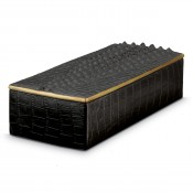 Rectangular Black Box, 23x10cm