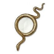 Gold Plate Large Magnifying Glass, 22cm