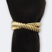 Deco Twist Set/4 Napkin Rings