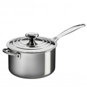 Saucepan with Lid & Helper Handle, 3.8L