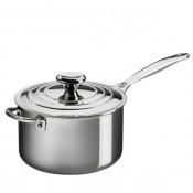 Saucepan with Lid & Helper Handle, 3.8L