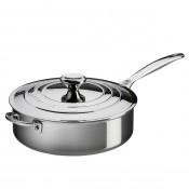Saute Pan with Lid & Helper Handle, 4.3L