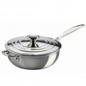 Saucier/Chef's Pan with Lid, 3.3L