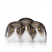 Wildlife Three Owls, 18cm