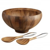 Salad Bowl with Servers, 35.5cm, 3.8L
