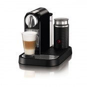 Espresso Maker & Frother, Black