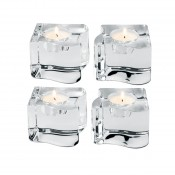 4 Piece Puzzle Votive Set