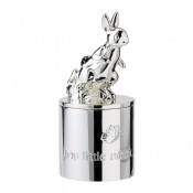 Silver Plate 1st Tooth/Curl Keepsake Box, 9cm