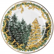 2017 Christmas Charger/Wall Plate, 30cm - A Winter's Night
