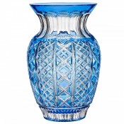 Molly Blue Cased Bouquet Vase, 30.5cm