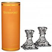 Set/2 Lismore Candleholders, 10cm