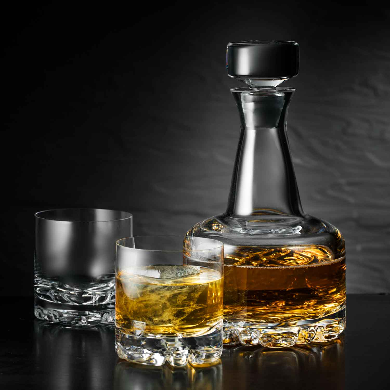 Set/4 Double Old Fashioned Glasses, 9cm, 350ml