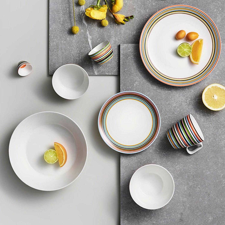 Dinner Plate (Orange)