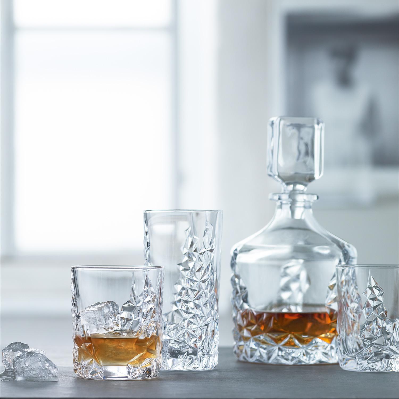 Decanter & Whisky Glasses Set