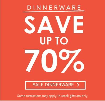 Dinnerware Landing Page
