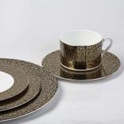 Antonia Gold Dinnerware