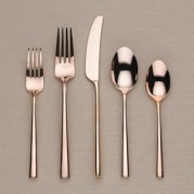 Malmo Rose Gold - Stainless Steel Flatware