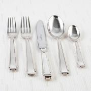 Art Deco Silver Plate Flatware
