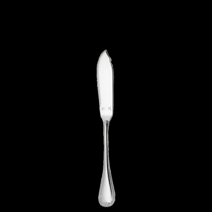 "Christofle Silver Plate "" Malmaison "" flateware Butter Spreader"