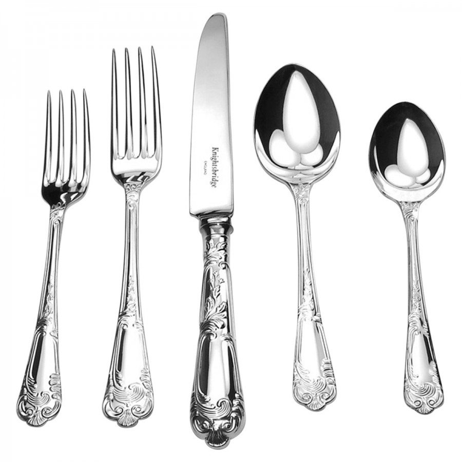 5 piece setting william ashley china - Splendide flatware patterns ...