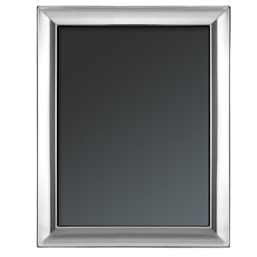 Plain Sterling Silver Photo Picture Frame 13x18cm 5 Quot X7
