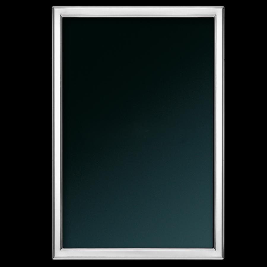 Plain - Sterling Silver Mini Photo/Picture Frame, 4x5.5cm (1.5\