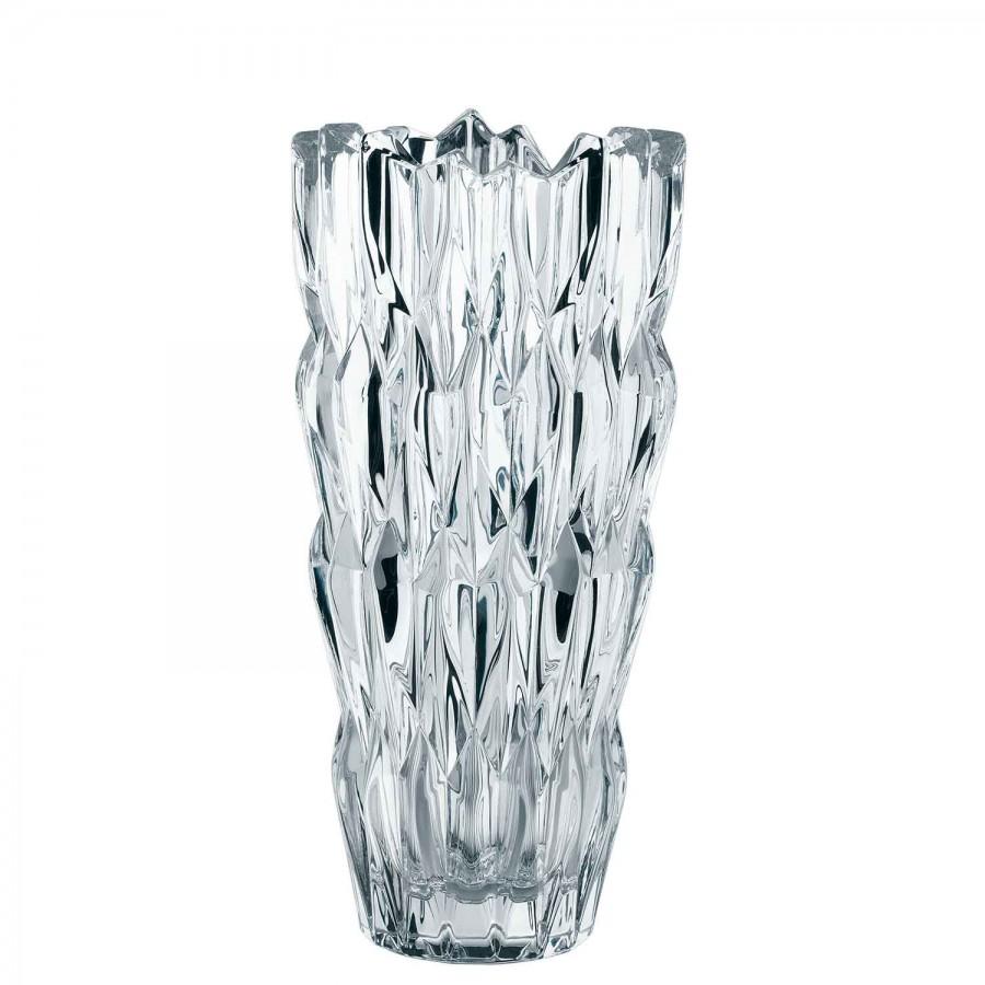 Crystal Cylinder Flower Vase 25 5cm William Ashley China