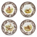 Set/4 Assorted Dessert/Salad Plates