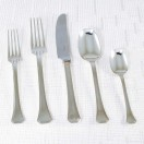 5 Piece Place Setting - Unserrated Knife