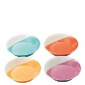 Set/4 Assorted Colours Coupe Pasta Bowl, 23cm - Brights