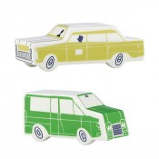 Cars Salt & Pepper Shakers