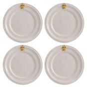Set/4 Cocktail Plates