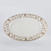 Large Oval Platter, 38.5x27cm