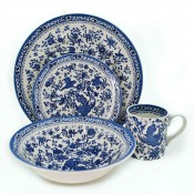 4 Piece Place Setting - Blue